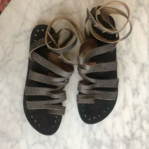 Free People Strappy Sandals